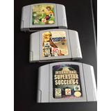 Juegos Nintendo 64 Soccer Fútbol Fifa Valderrama