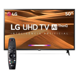Tv Lg Smart 4k 50 Um7360 2019 Magic Control Y Soporte Gratis