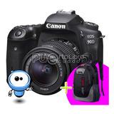 Camara Profesional Canon 90d 32.5mp 4 K !!+ Memoria + Maleta