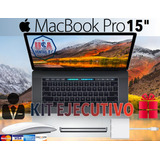 Macbook Pro 15 Touch Bar Space Gray Mptr2ll/a Kit Ejecutivo