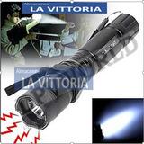 Tolete Linterna Led  Electroshock Con Luz Laser Multifuncion