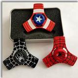 Spinner Fidget Colección Iroman Spiderman Capitan América