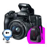 Camara Canon M50 24.1 Uhd 4k Lente + Memory + Maleta Tripode