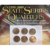 Usa 6 Monedas : Cuarto De Dolar 2009 Quarters Territorios