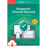 Kaspersky Internet  Security 3pcs 12 Meses Licencia Original