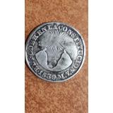 Moneda Antigua, 2 Reales, 1839, Gj, Ecuador, Predecimal, Vf