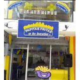 Vendo Restaurante Comida Rápida Franquicia Con Imobiliario