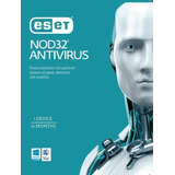 Antivirus Eset Nod32 V13 3pcs 12 Meses Licencia Original