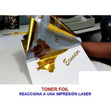 Toner  Foil, Papel Aluminio, Pan De Oro.