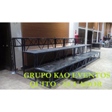 Alquiler Sonido Tarimas Iluminacion Estructuras Graderio