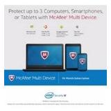 Licencia Antivirus Mcafee Para 3 Dispositivos Por 15 Meses