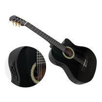 Guitarra Española Electroclasica/eq/negra