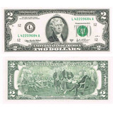 Billete De 2 Dólaresdolares