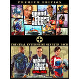 Grand Theft Auto V Pc + Gta V +online + Criminal Enterprise