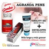 Virilityex Pastillas Y Developpe Promoción Agrandar Pene