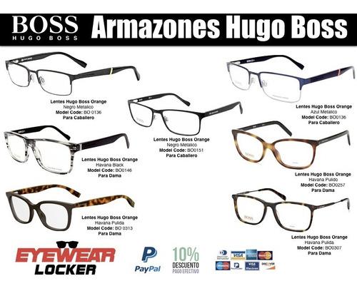 996d80e14a Lentes Armazones Hugo Boss Orange 100% Originales