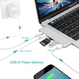 Adaptador Hub Tipo C Usb Para Macbook 6 En 1