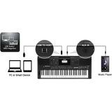 Piano - Teclado Yamaha Psr-e463 (incluye Cargador Original)