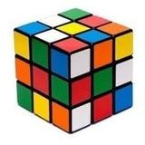 Cubo 3x3 Rubik De Colores Bloque 5,5 Cm 3d Economico