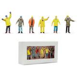 Figuras Trabajadores Multicolor - Escala 1:50