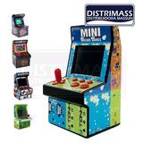 Mini Consola Arcade 240 Juegos Únicos Pantalla 2.5 Pulgadas