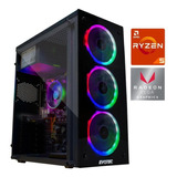 Cpu Gamer Ryzen 5 Pro / Vega 11 / Ssd / Ram 8gb / Fortnite