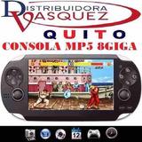 Mp5 Consolapsp 8gb Mp4 Mp3 Camara Digital Videos Juegos