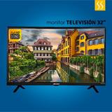 Tv Monitor Televisor Riviera 32 Full Hd Hdmi Usb Digital