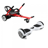 Scooter 10 Pulgadas + Cart Para Conducir Sentada + Bluetooth