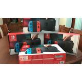 Nintendo Switch Nueva Y Sellada Azul Rojo Entrega Inmediata