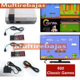 Consola Nintendo Con 600 Juegos Para Jugar En Dos