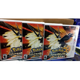 Pokemon Ultrasol Ultrasun 3ds - Nuevos Y Sellados