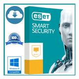 Eset Antivirus Smart Security - Licencia 1 Pc, 1 Año