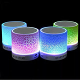 Parlante Bluetooth Mini Con Luces Ritmica De 3w Usb Micro Sd