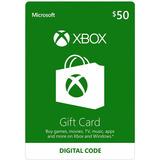 Xbox Live Gifcard $50 Codigo Digital Region Usa