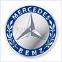 Juego De Tapacubos Mercedes Benz - Adhesivos En Resina
