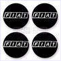 Juego De Tapacubos Fiat - Adhesivos Para Autos Tuneados