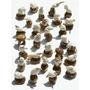 Lote 100 Figuras De Tagua Buena Variedad De Animales Ecuador