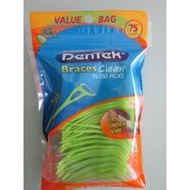 Limpiador De Brackets Y Dientes(hilo Dental) 75u Por Paquete