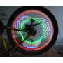 Luces 16 Led Para Rueda De Bicicleta Moto Diseños Lc-016
