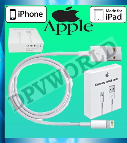 Cable Lightning Carga Y Datos Apple Iphone 5/6 Ipad Original