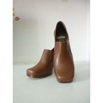 Zapato Café De Mujer Talla 35 - Marca Via Marte