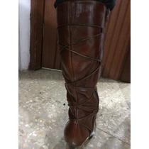 Botas 100% Cuero.usadas (poco Uso). Mujer Talla 6.5 Zapatos