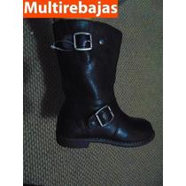 Botas Para Nina Marca Zara ** Talla 28 Eur, Plantilla 18cm*