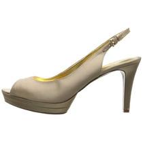 Zapatos Nine West Oro Claro Mujer Talla 7 M Us Originales