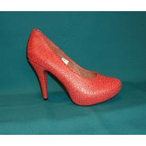 Zapatos Mujer Plataforma 10 Melón Fiesta Talla 38