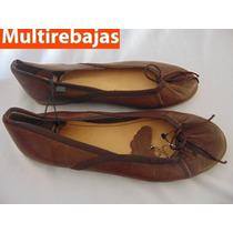 Zapatos De Cuero, Zara Girls Made In Italy Talla 35 (cm23)
