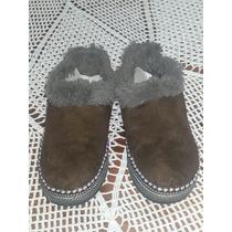 Zapatillas Para El Frio En Perfecto Estado Para Niña