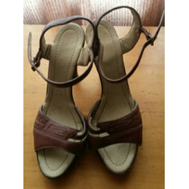 Zapatos De Taco Alto Colombianos Talla 35