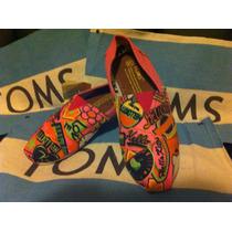 Zapatos Toms Para Mujer 100% Originales